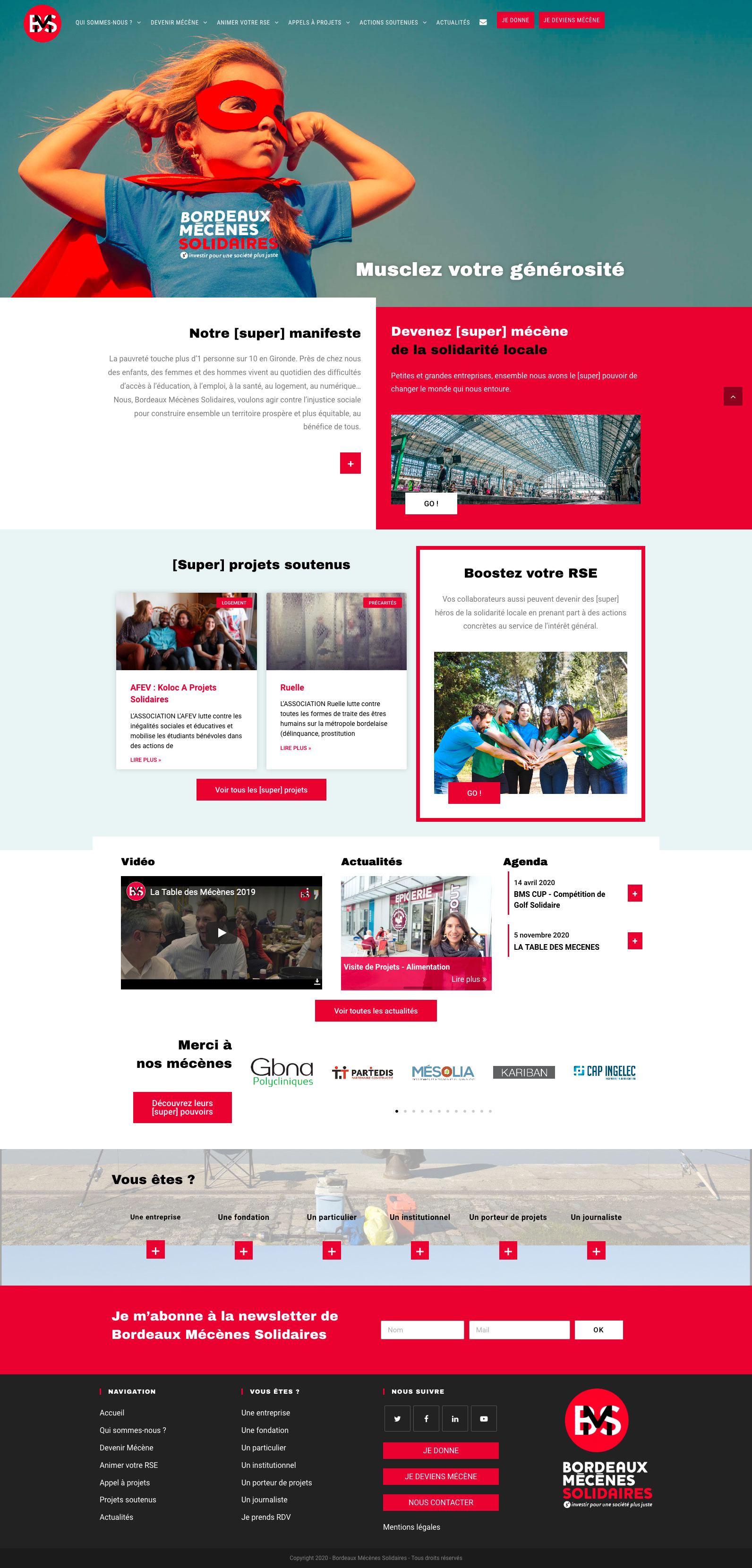 site Internet BMS