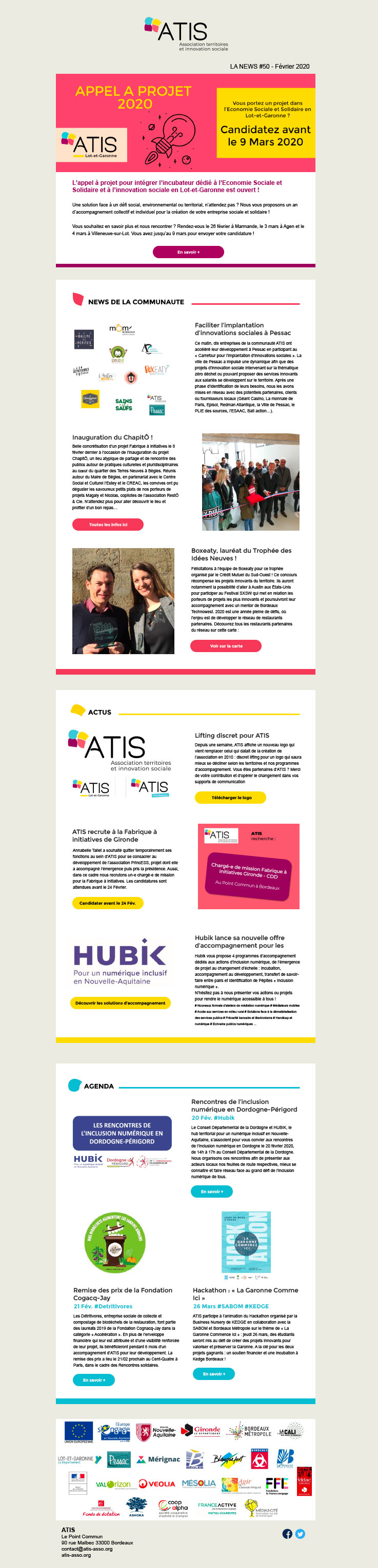 newsletter ATIS