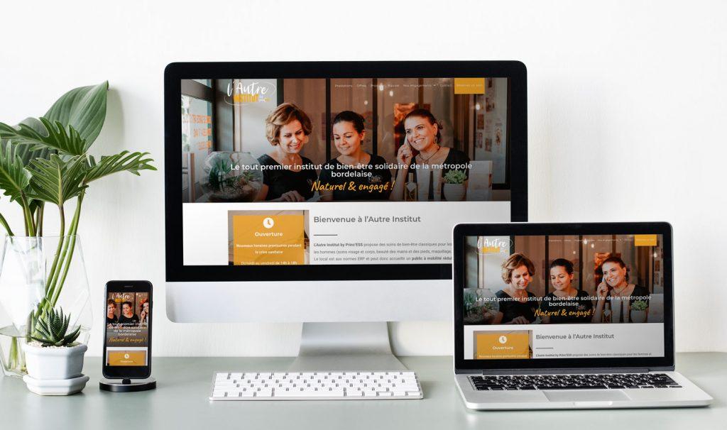 site Internet L'Autre Institut